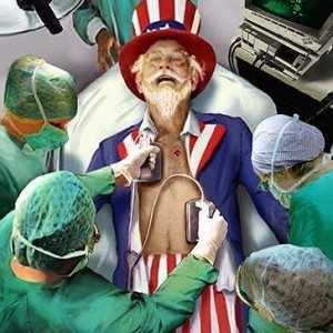 uncle sam on life support