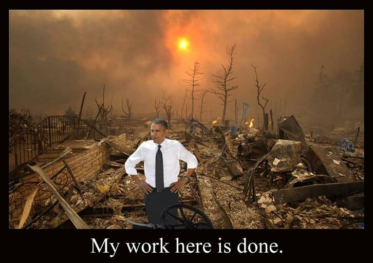 How is Libya Doing Since Obama Saved the Country? Obama-my-work-here-is-done