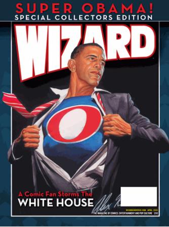 Obama as Superman