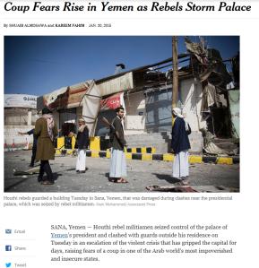 Yemen Coup