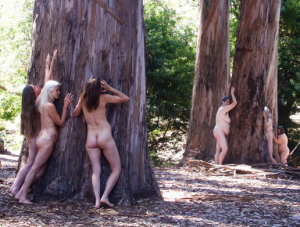 Tree-Hugging Liberal Naked Women