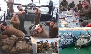 Obama Navy Surrendering to Iran