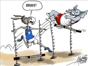 Moral Standards-Hypocrite
