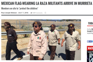 La Raza Brownshirts