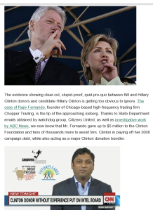 Hillary Corrupt Huffpo