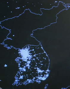 North Korea at night 2